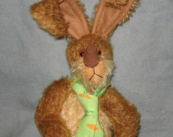 Jointed Artist Bunny Rabbit  Pattern