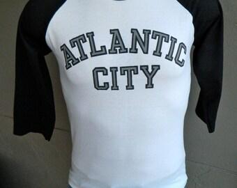 Atlantic City 1980s vintage tee shirt - medium