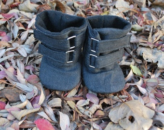 Soft Sole Baby Boots // Girl Baby Boots // Girl Toddler Boots // HARPER Soft Soled Girl Boots // Sizes 2-6