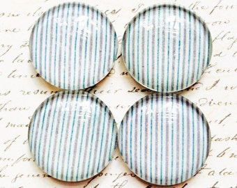 Glass Magnets - Magnets - Office Supplies - Decorative Magnets - Office Accessories - Glass Magnet - Office Decor - Fridge Magnets - Stripe