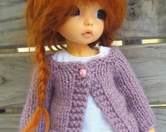 Old pink cardigan for Littlefee