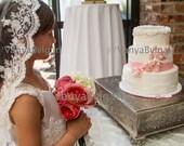 Flower girl veil, lace veil,  First Communion veil, Catholic veil, Holy Communion veil, Baptism veil, Confirmation veil