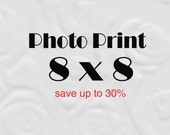 8x8 Print set of 8 x 8 Photo, 8x8 Photography Prints (save 30%)