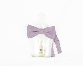 Florent - Lavender Men's Pre-Tied Bow Tie or Self-Tied Bow Tie