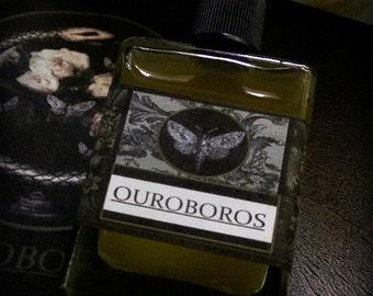 Ouroboros Gypsy Alchemy Natural Perfume Oil  1/2 oz Thyme,Lavender,Peach,Creosote,Osmanthus,Narcisuss,Orange,Cedarwood,Orris,Labdanum,