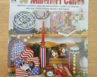 36 Millefiori Canes by Amy Koranek 2000 Craft Book