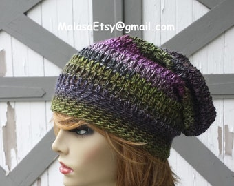 Slouchy Hat, Pom Pom HAT, GIFT Hat Fall Winter, Beanie Hat Outfit, Slouchy HAT, Beret Hat, Chemo Cozy Hat, Beanie Hat Ready to Ship, Slouchy