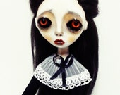 Handmade Collectible -OOAK- Art doll- Clay Jointed - Zyana