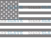 United States Flag Stencil - 12 inches