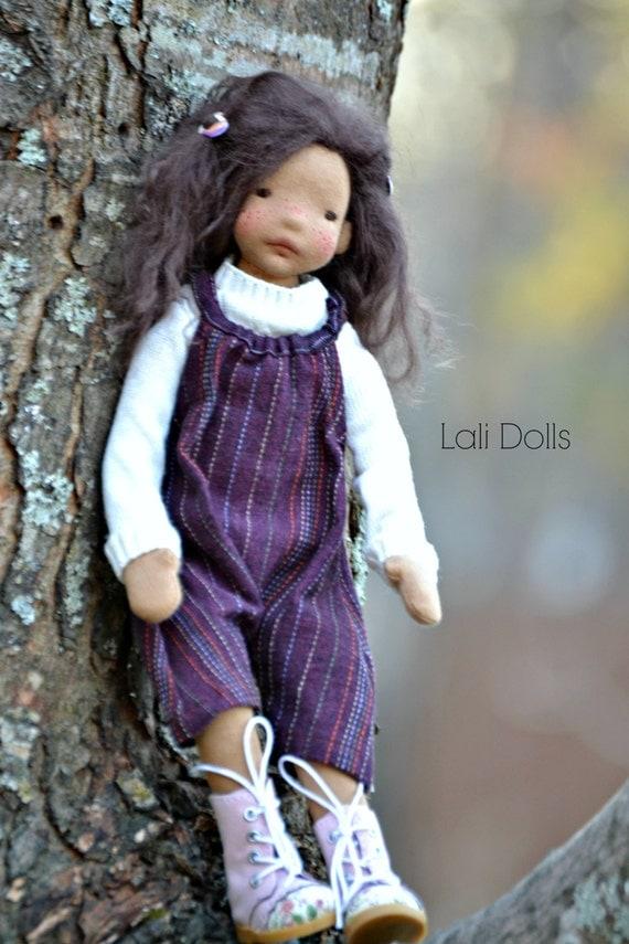 PDF PATTERN Doll Wig Cap Tibetan Lambskin Wig, Kidassia Goat, mohair or fur fabric