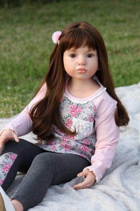 Custom Reborn Toddler Child Size Doll Aloenka By Natali