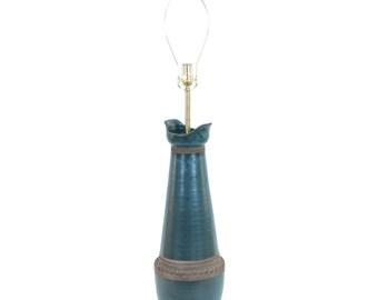 XL Aldo Londi Bitossi Pottery Lamp Raymor Mid-Century Modern