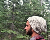 Beanie Hat Wool Blend Crochet Hat Slouchy Knit Winter Hat Small Medium Large Mens Womens Kids More Color Options