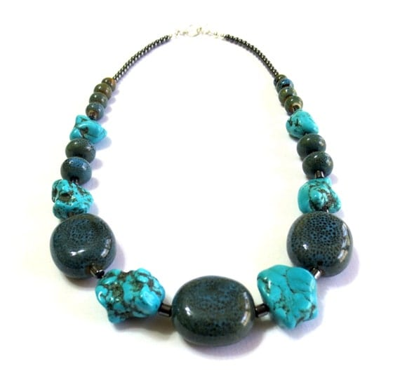 s turquoise necklace unisex necklaces by