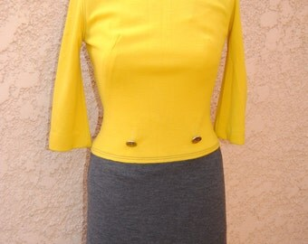 Vintage 1960's Mod Jonathan Logan Dress