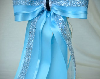 Ready to Ship Disney Bound Couture Cinderella Disney inspired statement hair bow, Summer 2016