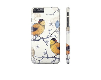 BIRD iPhone Case, iPhone 7 Cover, Pretty Phone Case, iPhone 6 Cover, iPhone Case for 5s, Protective iPhone Cases, Samsung Galaxy Cases.