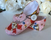 Valentine Kitty Baby Girl Shoes in Pink, Toddler Girl Shoes