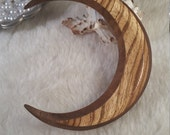 RavensCroft Approved Faceted Moon Zebrawood, Walnut and Sapele 4 in