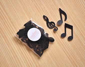 Music Party Decorations. Handcrafted in 2-3 Business Days. Music Notes for Table Confetti 25CT.