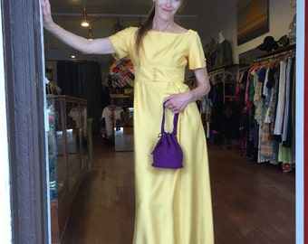1960's Empire Gown