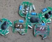 Digital watch chips -- set of 6 -- D4
