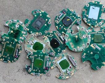 Digital watch chips -- set of 12 -- D14