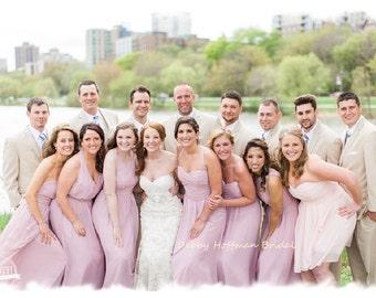 """Rose Gold Bridesmaids Sash, 18"""" Bridesmaid Belt, Beaded Bridal Party Sash, Rose Gold Wedding Party Belt, Maid of Honor Sash, No. 4070RGS-18"""