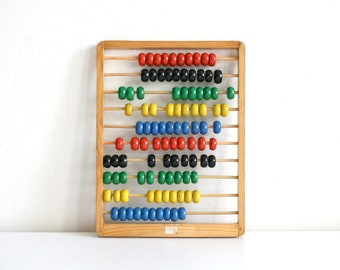 Colorful Wood Abacus