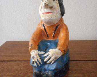 Cast Iron Doorstop Alice in Wonderland series Carpenter 665 Full Figure c.1900 or earlier