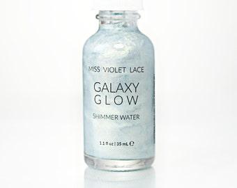 Galaxy Glow Shimmer Water | Light Body Shimmer | Natural + vegan