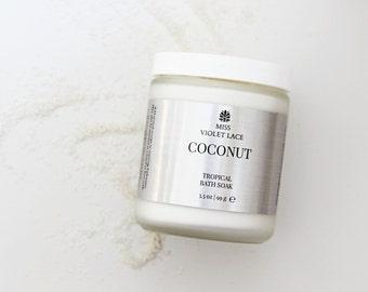 Coconut Bath Milk | Tropical Bath Soak | Spa & Relaxation | Vegan Bath
