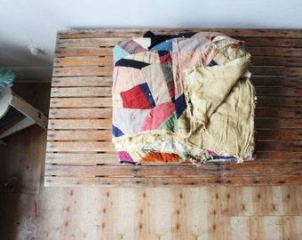 vintage folk quilt
