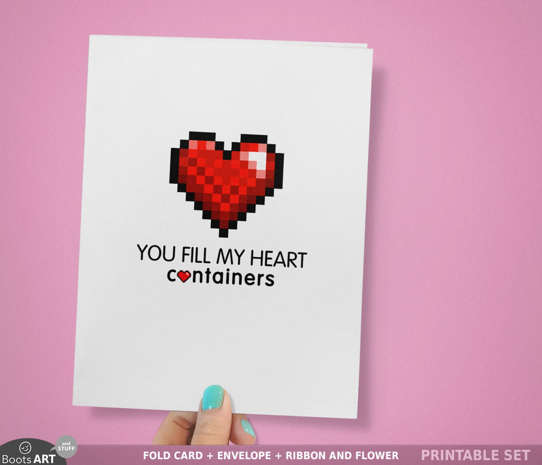 Romantic geek card – Valentine Day Video Card