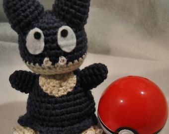 Munchlax Pokemon Inspired Amigurumi - OOAK - Old Style