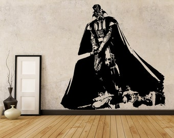 Darth Vader - Star Wars Epic Fan Art Vinyl Wall Decal Wall Decor Sticker Home Decor
