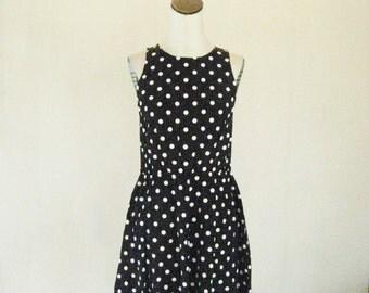 Black & White Polka Dot My Michelle Day Dress