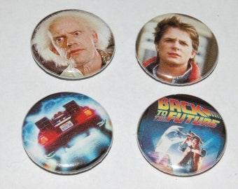 Back to the Future Movie 25mm / 1 inch Button Badge - Marty McFly