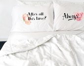 Wedding Gift Couples Pillowcases Harry Potter After All This Time Always Pillows Long Distance Relationship Gift LDR Pillowcases Love Always