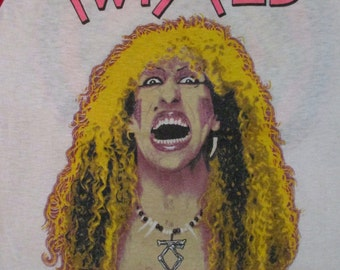 TWISTED SISTER 1983 tour T SHIRT