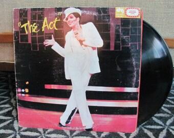 "Vintage ""The Act: A New Musical Starring Liza Minelli"" Vinyl Record Album - 1978 - Original Broadway Cast - Martin Scorsese - 70's Album"