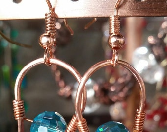 NEW AQUAMARINE EARRINGS - Artisan Fashioned Design