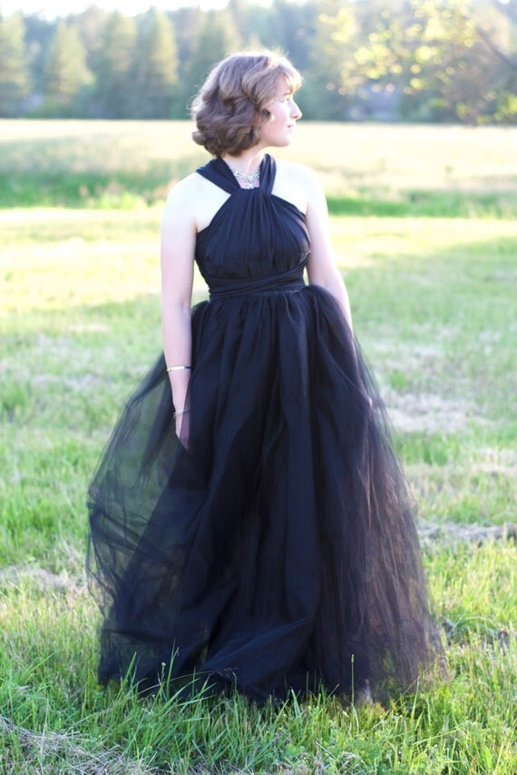 RESERVED // Cream Ballroom Tulle Maxi Skirt, Shimmer Tulle Layer + Swatches by Petrichor