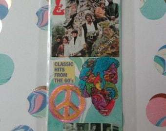 Arthur Lee and Love  Handmade Collage Bookmark by Pepperland