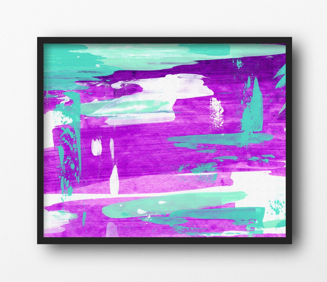purple wall art canvas wall decor purple by akchapmanart on etsy. Black Bedroom Furniture Sets. Home Design Ideas