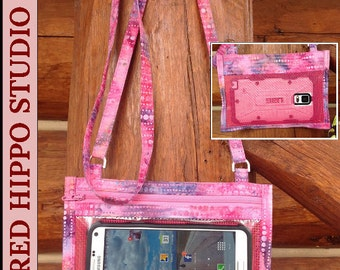 Hold The Phone! Crossbody Smartphone Case PATTERN PDF