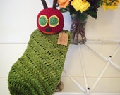 Ready-to-Ship Newborn Very Hungry Caterpillar Hat and Cocoon Set - Photography Prop SALE