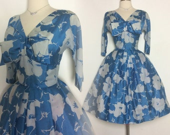 Vintage 1950s Dress // Suzy Perette // 50s  Dress //New Look //Femme Fatale//Rockabilly//Mad Man//Mod//
