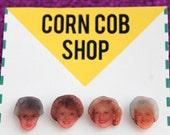 Golden Girls Stud Earring Set - Golden Girls Earrings - Golden Girls - Betty White - Bea Arthur - Pop Culture - Gift Idea