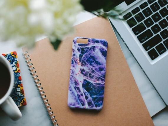 iPhone 6 Case Marble - Purple Marble iPhone Case - iPhone 6 case - Hard Plastic, Slim Fit
